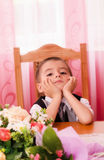 Dreaming child Royalty Free Stock Photography