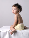 The dreaming child. Royalty Free Stock Photography