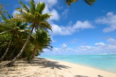 Dreaming Cook Islands Royalty Free Stock Images
