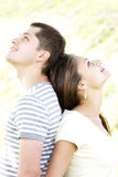Dreaming couple Royalty Free Stock Images