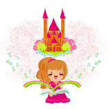 Dreaming about fairytale Stock Images