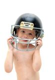 Dreaming football Royalty Free Stock Photos