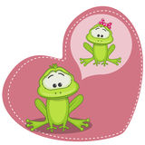 Dreaming Frog Royalty Free Stock Photo