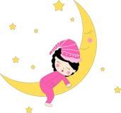 Dreaming girl Stock Photo