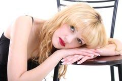Dreaming girl Stock Photos