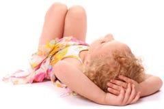 Dreaming girl Royalty Free Stock Image