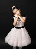 Dreaming girl royalty free stock images