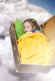 Dreaming girl Royalty Free Stock Photography