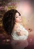 Dreaming girl Royalty Free Stock Photo