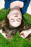 Dreaming girl Stock Photography