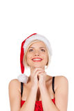 Dreaming of a good present. Stock Photo