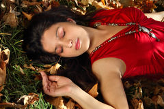 Dreaming In Autumn Stock Images