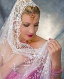 Dreaming India Woman Royalty Free Stock Photo