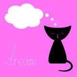 Dreaming kitten Stock Photos