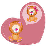 Dreaming Lion Stock Images