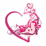 Dreaming Of Love #03, vector Royalty Free Stock Photography