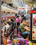 Dreaming of a lucky strike in Osaka, Japan Stock Images