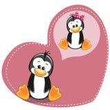 Dreaming Penguin Stock Image