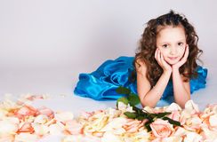 The dreaming princess Royalty Free Stock Images