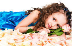 The dreaming princess Stock Photography
