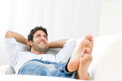 Dreaming and relax Stock Photography