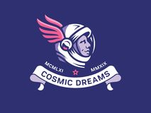 Dreaming the stars space run commemoration Royalty Free Stock Photos