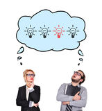 Dreaming of success Royalty Free Stock Photo