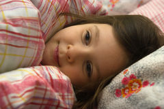 Dreaming sweet girl Royalty Free Stock Photos