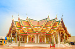 Dreaming temple in Thailand Royalty Free Stock Photography
