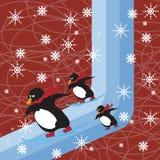 Dreaming winter vector illustration