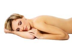 Dreaming woman Stock Photos