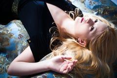 Dreaming woman  Royalty Free Stock Photo