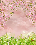 Dreamland. Fantasy background for your artistic creations Stock Photo