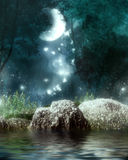 Dreamland. Fantasy background for your artistic creations and/or projects Stock Photo
