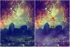 Dreamland Fotografie Stock