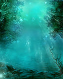 Dreamland. Fantasy background for your artistic creations Royalty Free Stock Photos