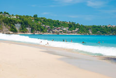 Dreamland beach in Bali Stock Image