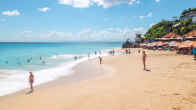 Dreamland beach in Bali Stock Images