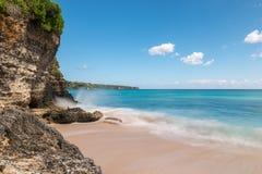 Dreamland beach in Bali Stock Image