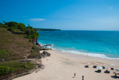 Dreamland beach in Bali Royalty Free Stock Image