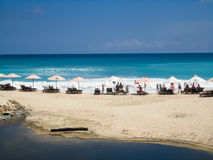 Dreamland beach at Bali Royalty Free Stock Image