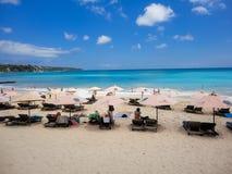 Dreamland beach at Bali Stock Images