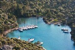 dreamland jachty fotografia stock