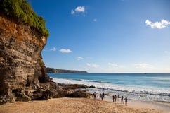 Dreamland plaża - Bali Zdjęcie Stock