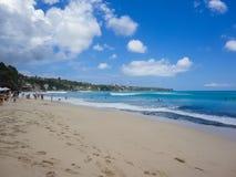 Dreamland plaża przy Bali Obraz Stock