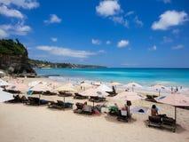 Dreamland plaża przy Bali Zdjęcie Stock