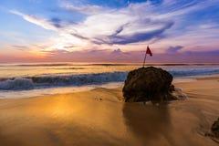 Dreamland plaża w Bali Indonezja Obrazy Stock