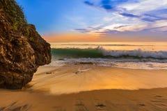 Dreamland plaża w Bali Indonezja Obrazy Royalty Free