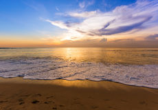 Dreamland plaża w Bali Indonezja Fotografia Stock