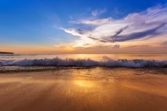 Dreamland plaża w Bali Indonezja Zdjęcia Royalty Free
